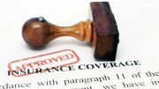 Approved insurance application